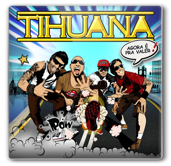 Download CD Tihuana Agora  Pra Valer!