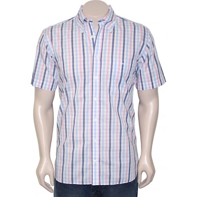 Gantt University Mens Check Shirt