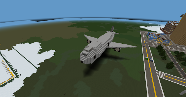 Airplane - Minecraft Metropolis