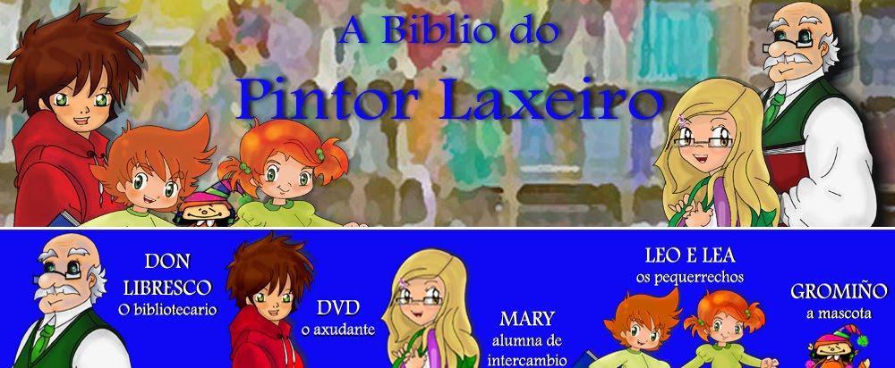 A BIBLIO DO PINTOR LAXEIRO