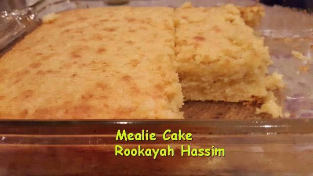 Recipe for a mealie cake