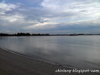 Nice view at Klebang Beach