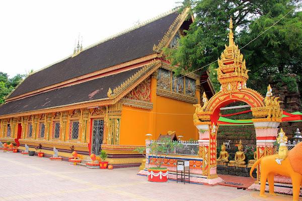 Temple Wat Si Muang à Vientiane