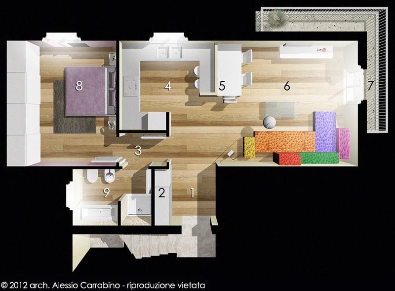 Alessio carrabino architetto servizio online for Progetti architettura on line