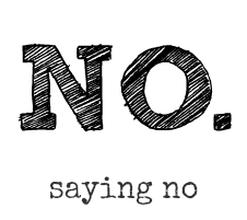 Saying No