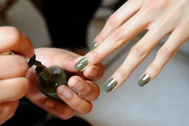 nail polish, loden, green, sally hansen, fall 2013, khaki, army, green,