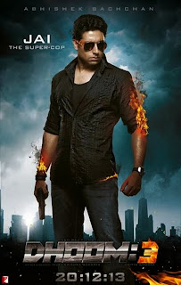 Dhoom 3 New Teaser And Abhishek Bachchan Poster