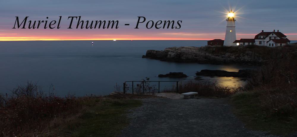 Muriel Thumm - Poems
