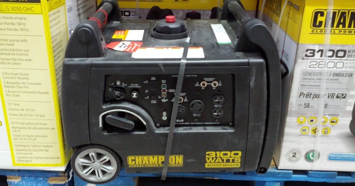 Champion Inverter Generator Costco : Champion global power equipment i inverter generator