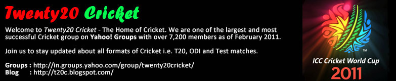 Twenty20 Cricket - The Home of Cricket