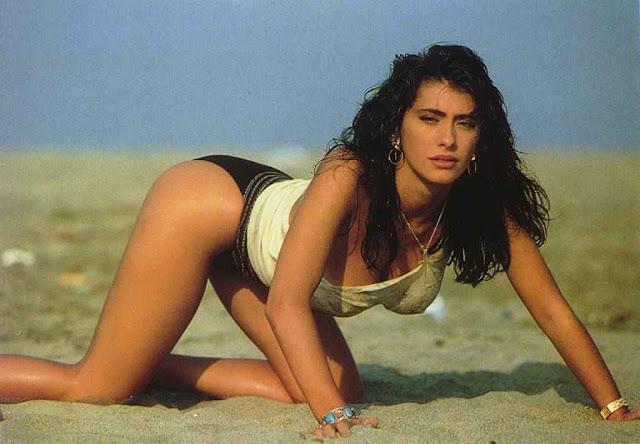 Cicciolina sabrina salerno 80s italian television show 7