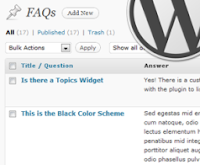 WordPress SEO - Frequently Asked Questions