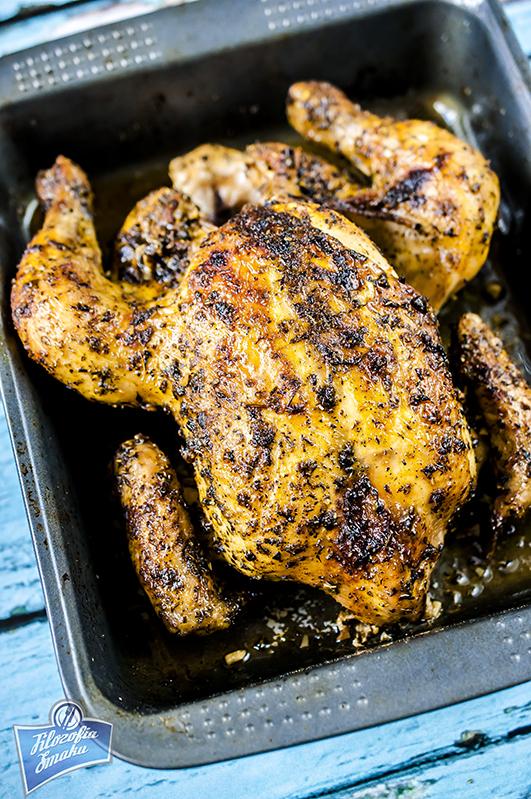 Kurczak pieczony w całości przepis
