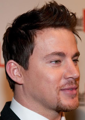 CHANNING TATUM HAIRSTYLES - SPIKY HAIR