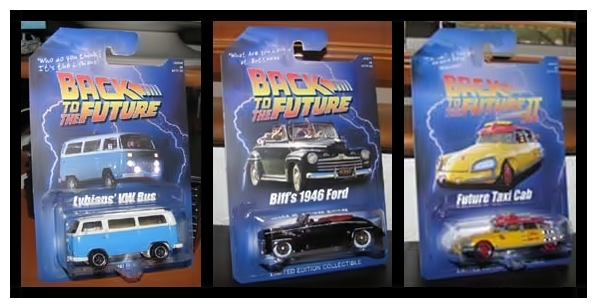 Coleção Back to the Future Hot Wheels 2011
