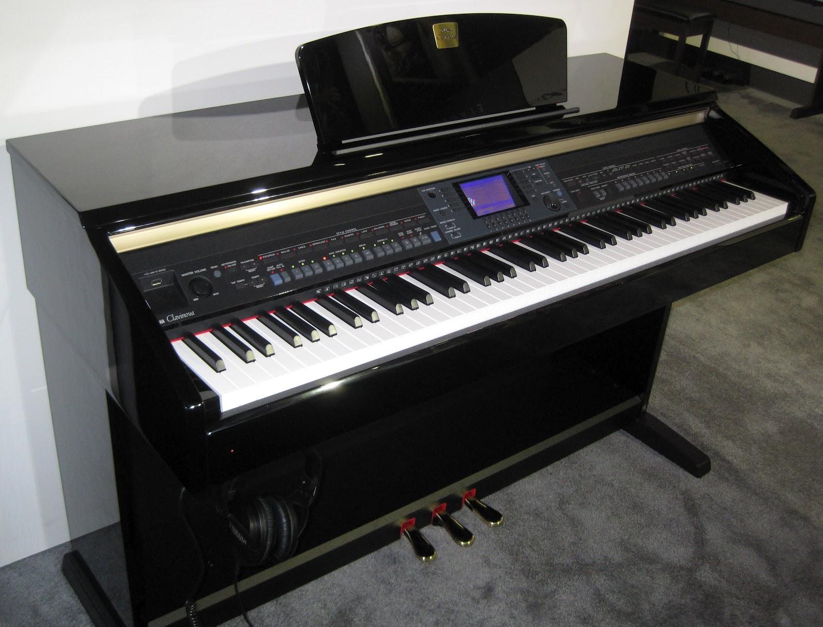 Az piano reviews review tradtional ensemble digital for Digital piano keyboard yamaha