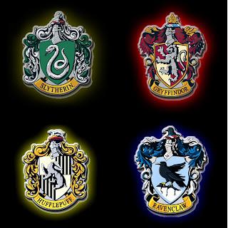 Harry potter ta a das casas - Harry potter casas ...