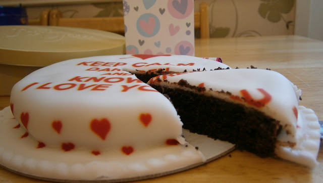 love heart valentine cake bakerdays