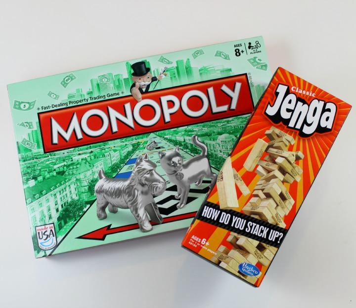 Hasbro® Monopoly Jenga games