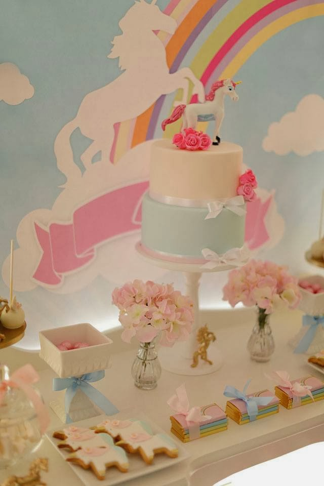 Little Big Company The Blog A Gorgeous Unicorn Party By