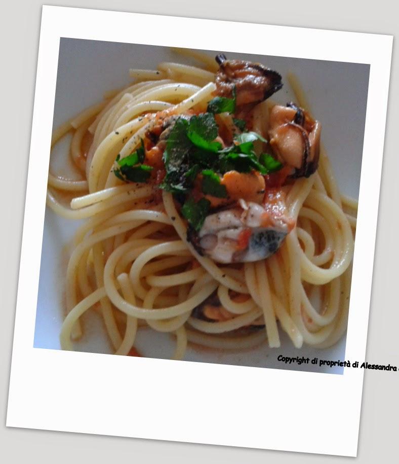 spaghetti alla cozze