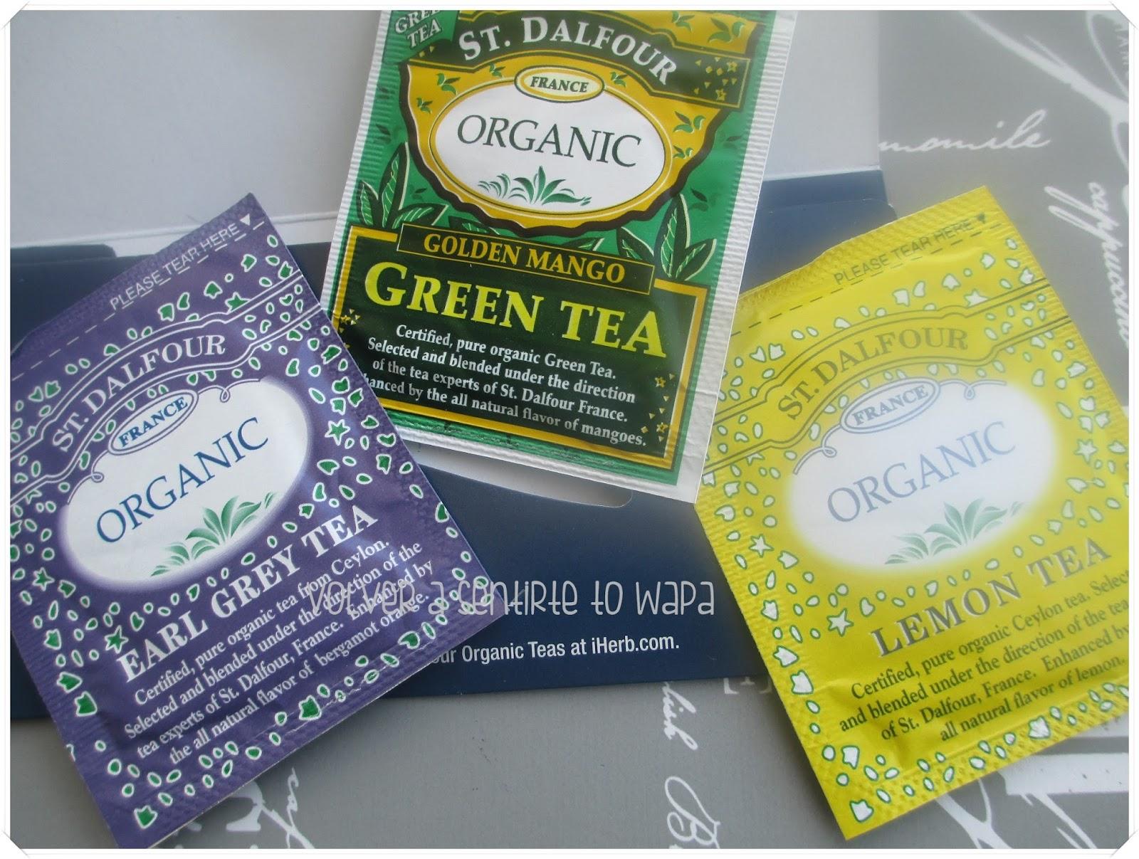 iHerb - Muestras de té orgánico de St. Dalfour