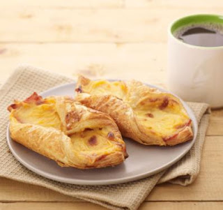 Starbucks-Ham and Cheese Danish