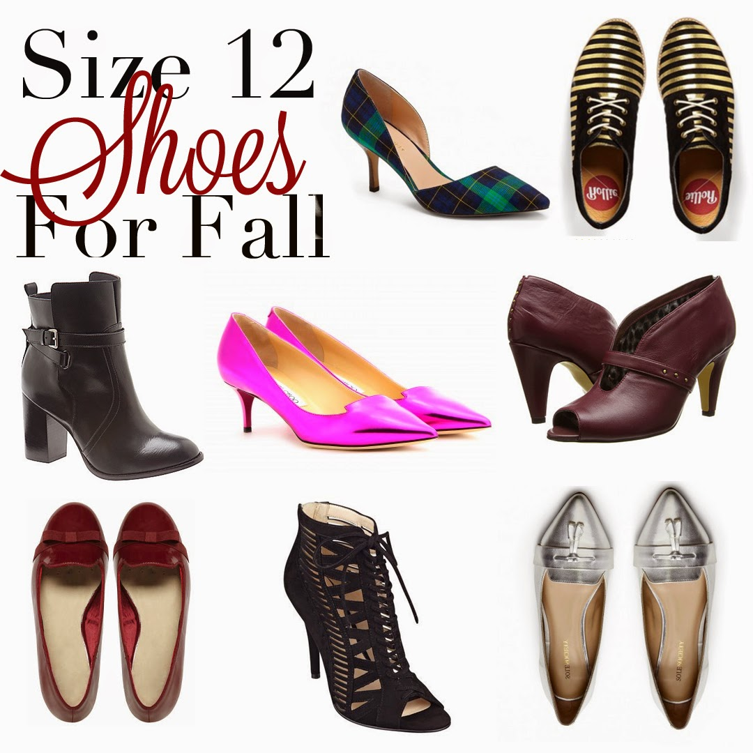 GarnerStyle | The Curvy Girl Guide: Size 12 Shoes for Fall