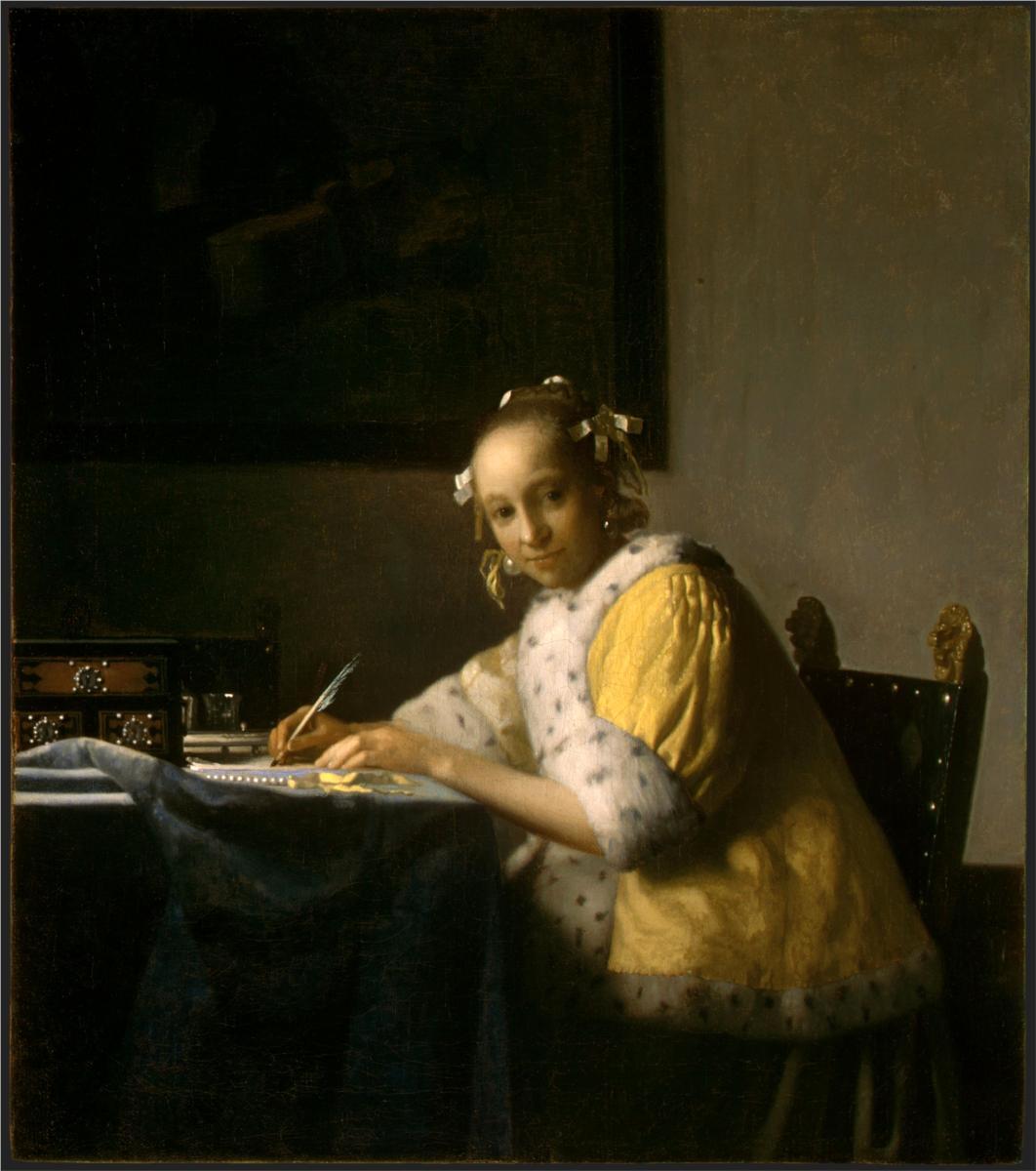 michelangelo and jan vermeer essay Fiction inspired by painting 2d truism, text structure, or essay 3  michelangelo  jean francois millet joan miro  jan vermeer leonardo da vinci andy warhol.