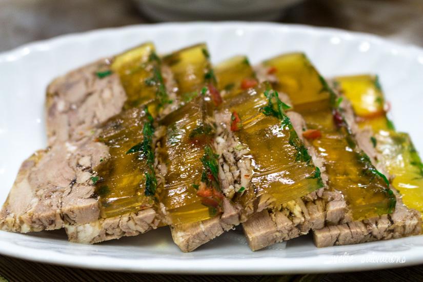 Lamb Jello at Islam Food, Hong Kong | Svelte Salivations