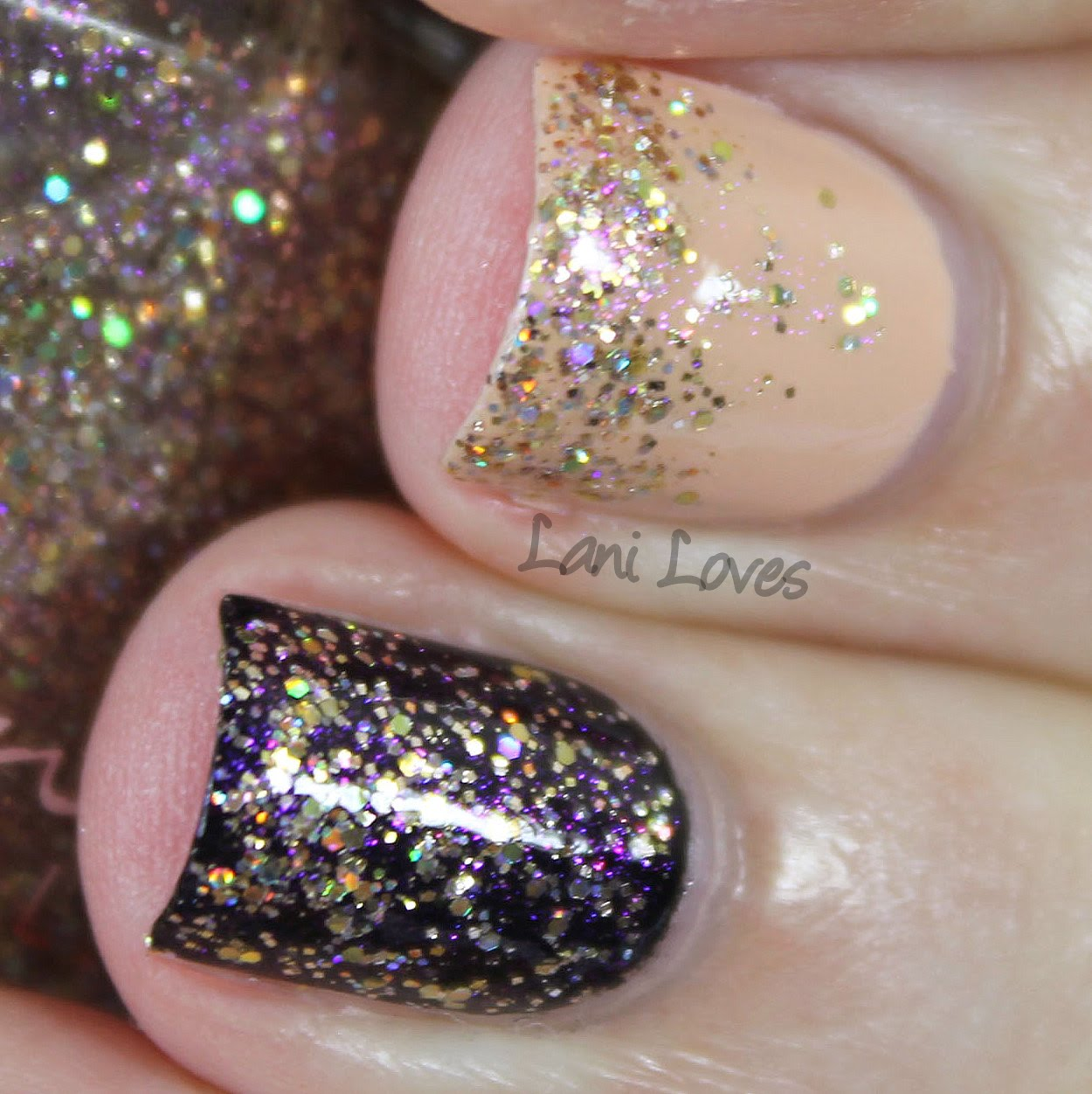 Femme Fatale Cosmetics - Rich in Beauty nail polish swatch