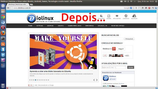 Firefox com visual de Chrome