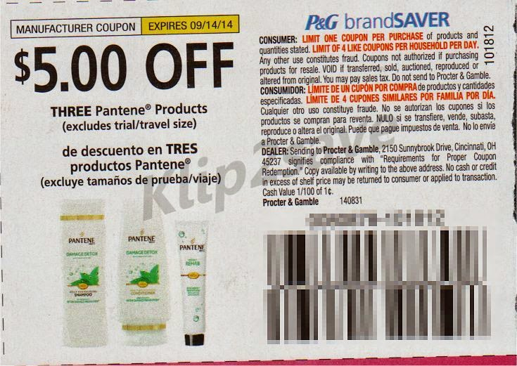 photograph relating to Pantene Coupons Printable identify Pg brand name coupon codes - Genuine Retailer Bargains