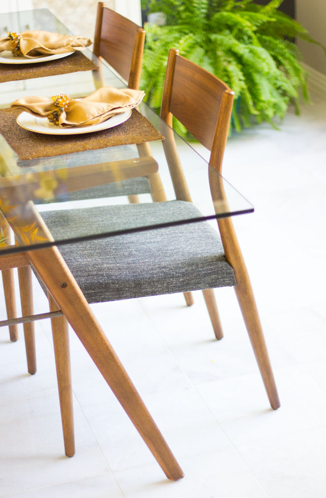 West Elm Jensen table - Our Dining Room Reveal With VarageSale! Design Improvised