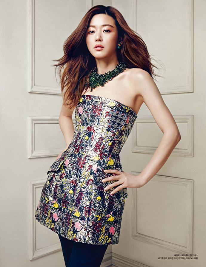Jeon Ji Hyun Harper's Bazaar Korea April 2014