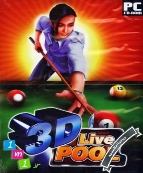 3D Live Pool Cover, Poster