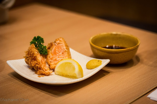 Fried Salmon Ala Carte of YABU