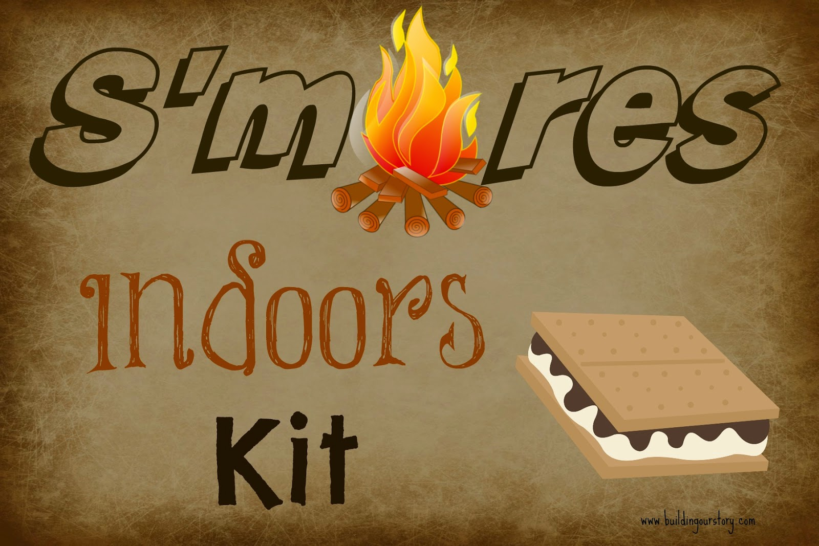Disney Planes Fire & Rescue: S'mores Indoors Kit |Building Our Story