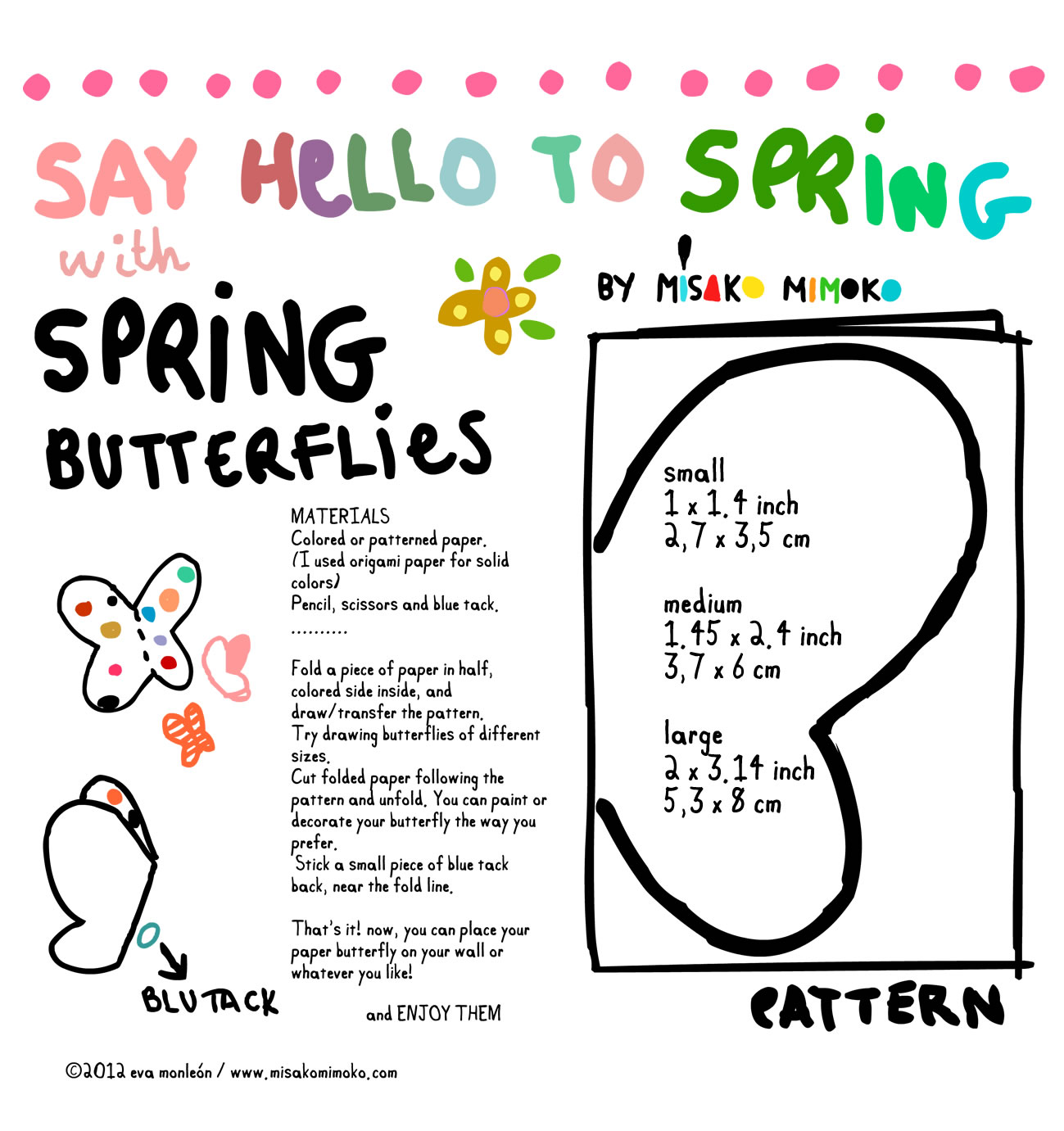 Making Paper Butterflies With Kids