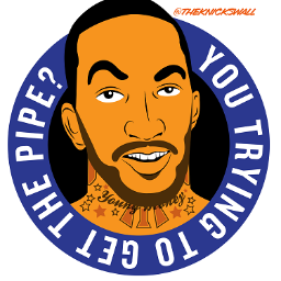 JR Smith you trying to get the pipe