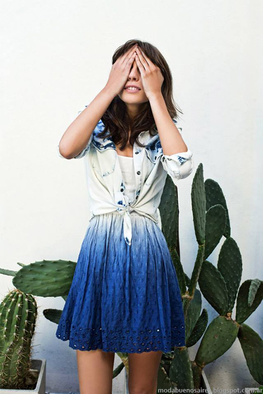 Moda 2015. Inedita primavera verano 2015 vestidos.