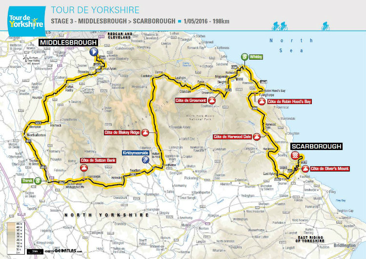 Tour de Yorkshire 2016 Stage 3