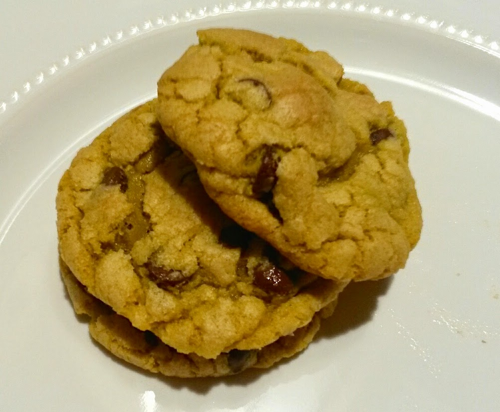 Ooey-Gooey Grain-Free Chocolate Chip Cookies