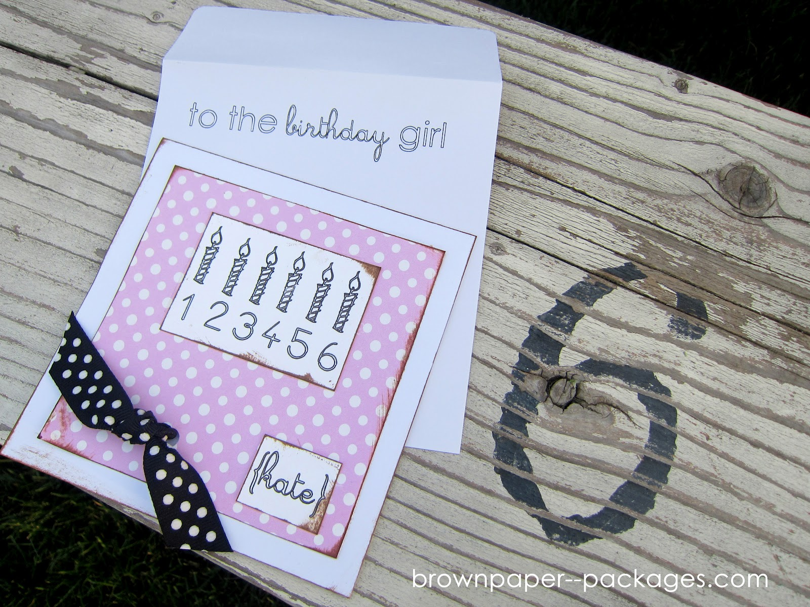 Sketch pen tutorial birthday girl card simply kierste design co sketch pen tutorial birthday girl card bookmarktalkfo Choice Image