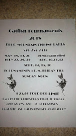 Seane's 4th Memorial Annual Catfish Tournament and Chinese Auction