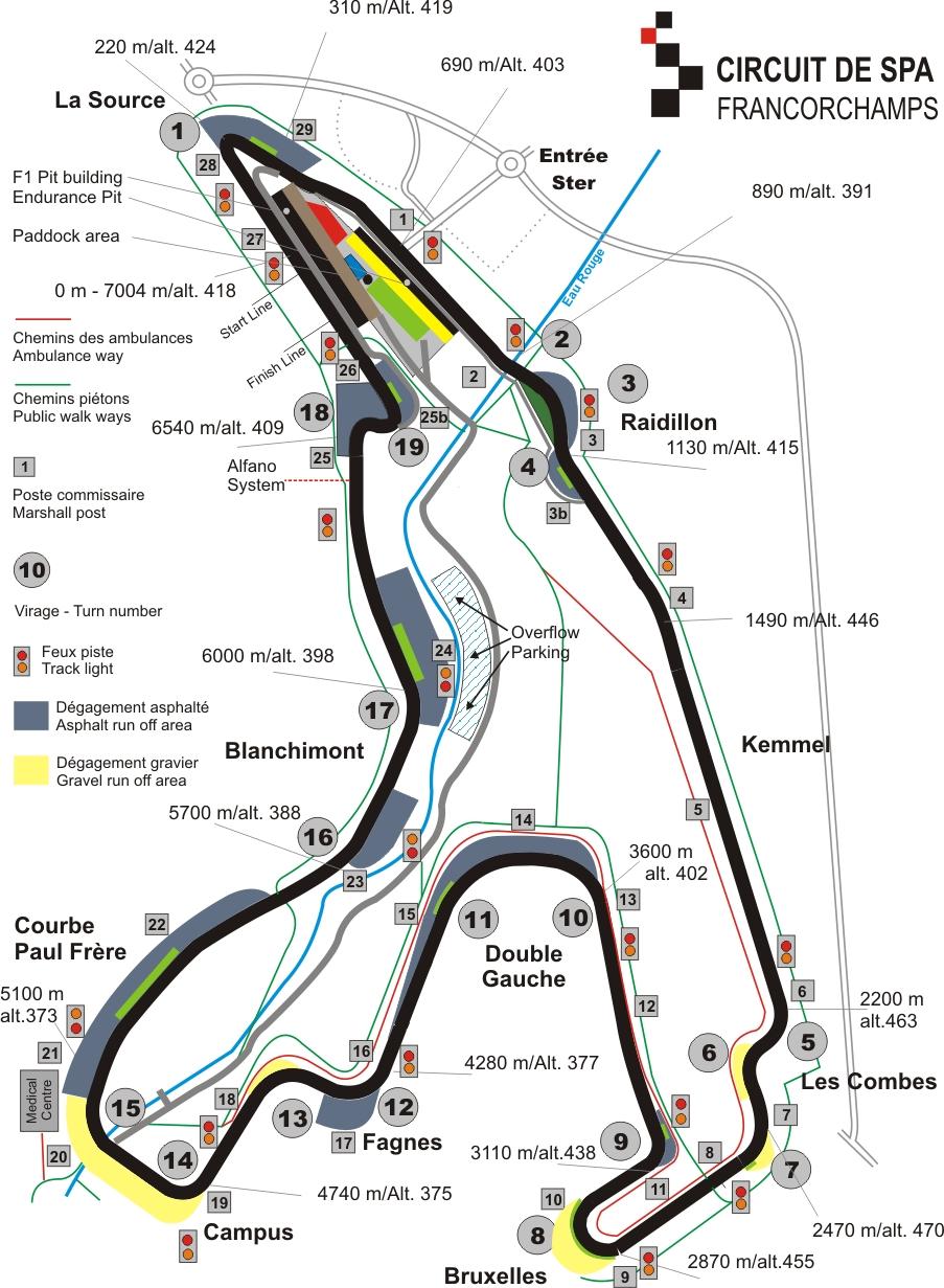 Circuito Spa : Web oficial de forza motorsport y horizon en españa: spa