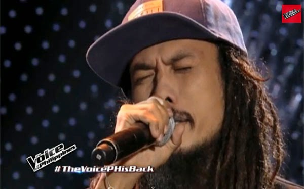 WATCH: Reggae singer turns 4 chairs on The Voice PH 2