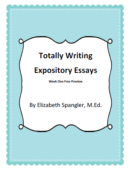 http://www.teacherspayteachers.com/Product/Expository-Essay-FREE-preview-of-Unit-Plan-158939