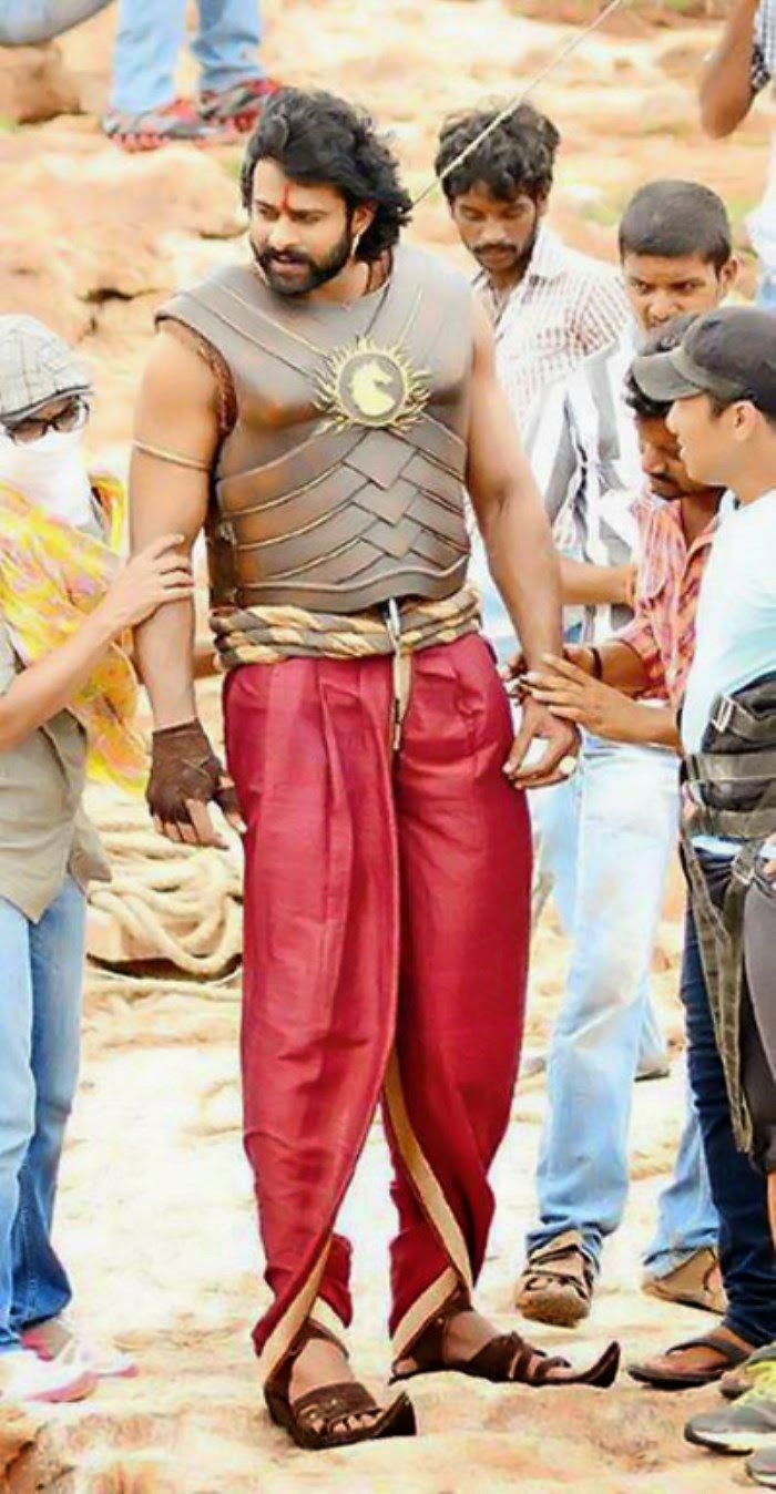 bahubali working images || bahubali working stills || bahubali