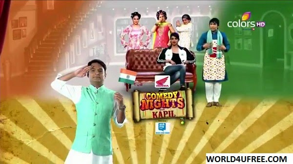 Comedy Nights With Kapil (Priyanka Chopra-Mary Kom) 17th Aug 2014 WEBHD 480p 300mb